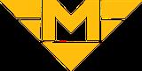 Logo trasy pražského metra - linka B