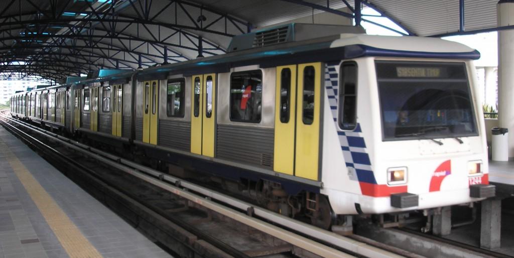 Souprava metra v Kuala Lumpur