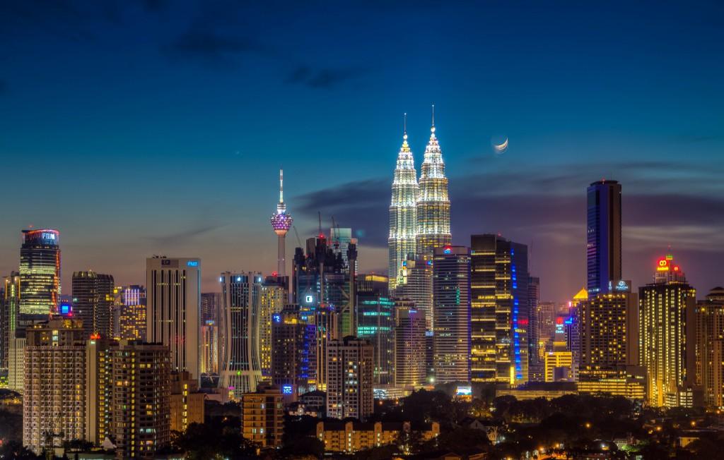Kuala Lumpur - jedno z nejhezčích měst na světě