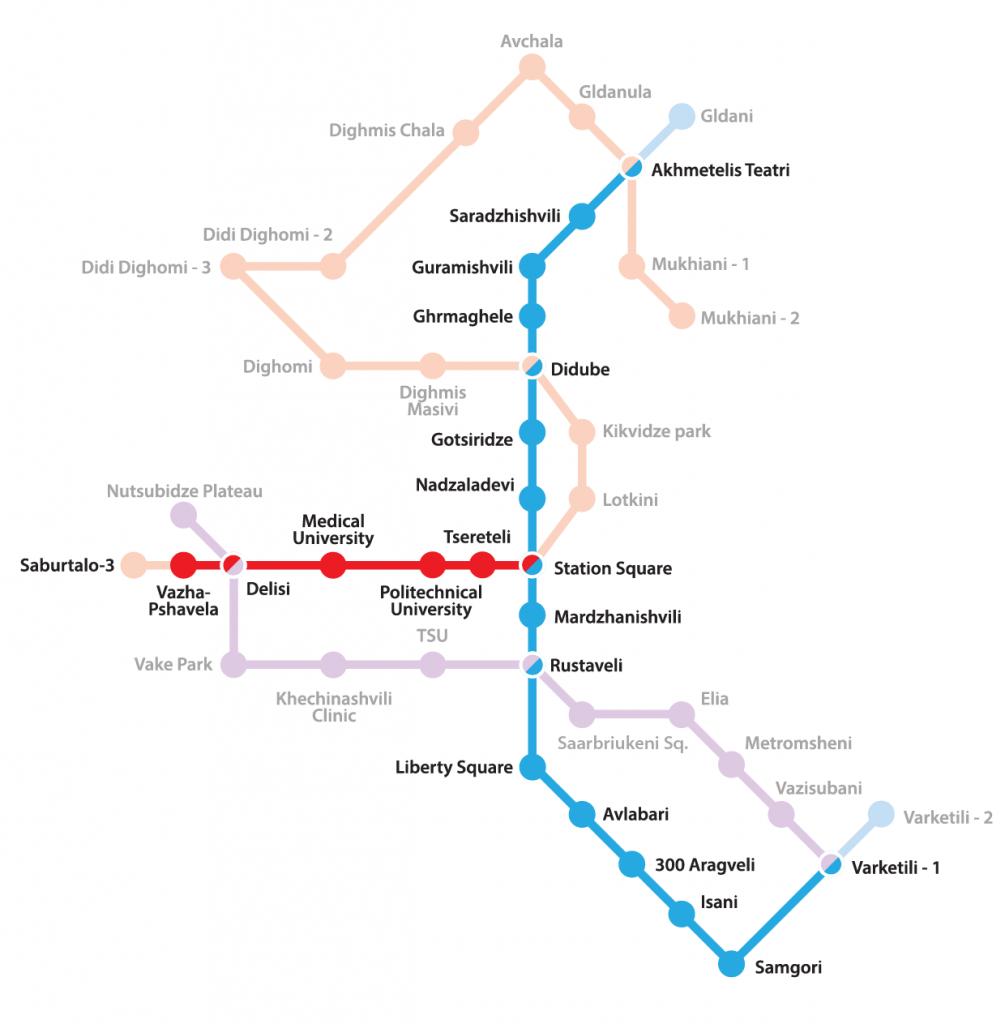 Metro v Tbilisi
