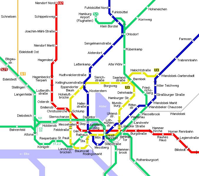 Metro v Hamburku