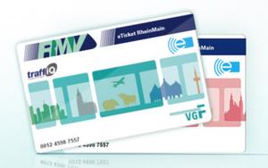 Jízdní karta ve Frankfurtu nad Mohanem