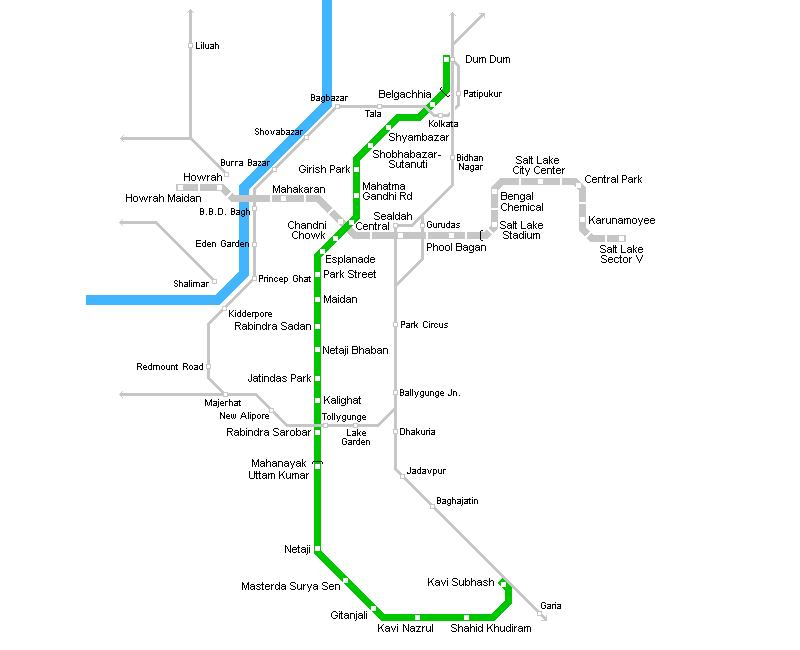 Metro v Kalkatě